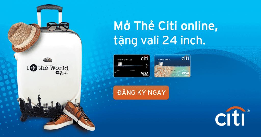 Mở thẻ tín dụng Citibank nhận ngay đồng hồ Fossil, Misfit