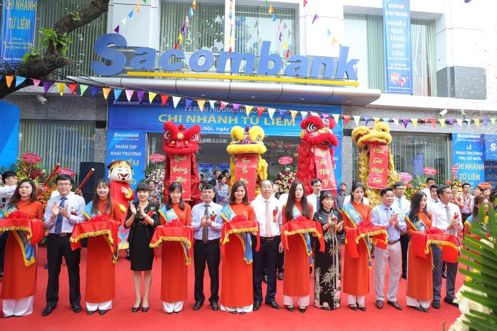 Các chi nhánh ngân hàng Sacombank tại Hà Nội