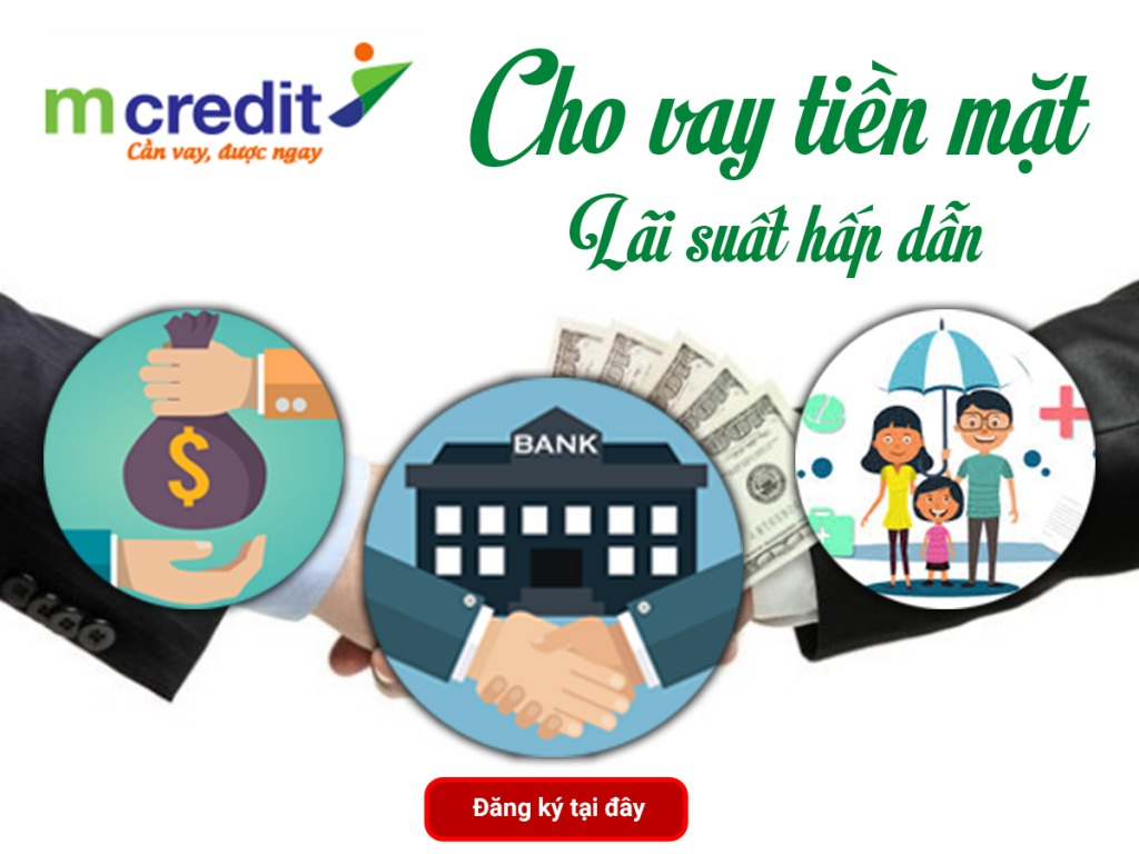 Vay tiền online tại nhà không cần thế chấp Mcredit